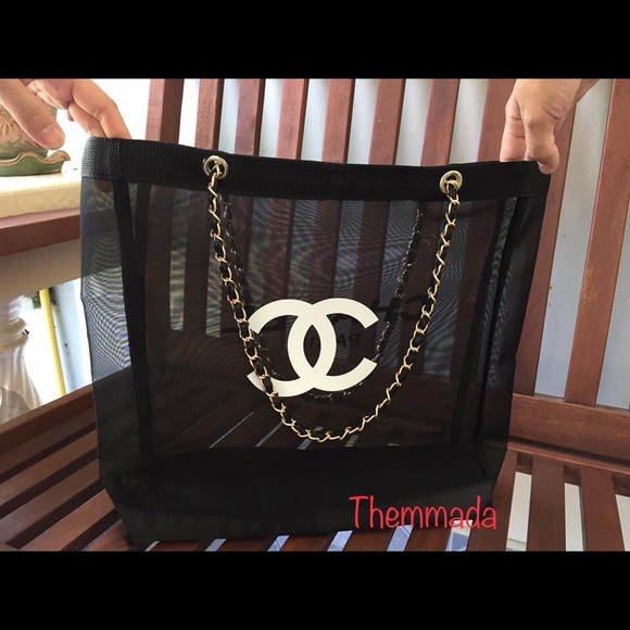 CHANEL Handbags - 🔥💯Brand New Auth Chanel Beauty VIP Mesh Tote🔥 8c9f75b41e